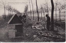 26501Watervloed In Zeeland Op 12 Maart 1906. Dijk In Den Eng. Polder Na Den Vloed. - Holanda
