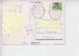 FINLANDIA  2002 - Annullo Speciale Antartico Su Cartolina Per Italia - Altri