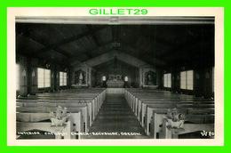 ROCKAWAY, OR - INTERIOR CATHOLIC CHURCH - CARTE-PHOTO - - Etats-Unis