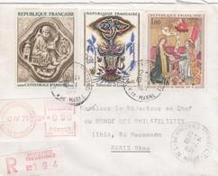 LETTRE RECOMMANDÉ  VINCENNES   /  2 - 1961-....