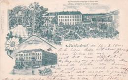 3834316Burtscheid, Hotel Weber (gestempelt 1901) (kleines Falte Im Ecken) - Alemania