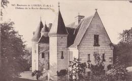 37 LIGUEIL ( ENVIRONS). CPA . CHÂTEAU DE LA ROCHE BERTAULT.  + TEXTE - France
