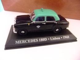 MERCEDES 180 D Taxi Lisboa PORTUGAL 1960 - Carros