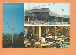 CPSM Grand Format - THE GALLEY RESTAURANT - Sullivan Trail - Wind Gap PA - Multivues - Denver