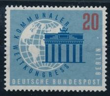 DEUTSCHE BUNDESREPUBLIK BERLIN - Kommunaler Weltkongerss - 1 Wert Postfrisch/** - Poste