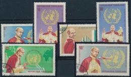 Papstbesuch - Papst Pius - Einheitlich Gestempelte Serie - Célébrités