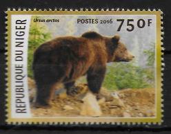 NIGER  N ° 3410  * *    Especes En Voie De Disparition Ours - Bears