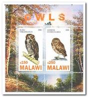 Malawi 2010, Postfris MNH, Birds, Owls - Malawi (1964-...)