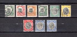 Tanganika   1922-31  .  Y&T  Nº   2/4-21-25/27-29/30 - British Indian Ocean Territory (BIOT)
