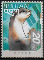 BHOUTAN  N ° 1476N  * *    Loutre - Briefmarken