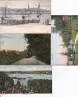 238926Nijmegen, Panorama Lent – Ubbergsche Weg – Belvédère – De Waal 1903 (4 Kaarten) - Nijmegen
