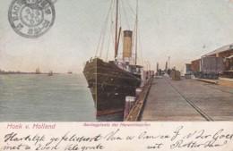 238951Hoek V Holland, Aanlegplaats Der Harwichbooten 1906 (zie Hoeken) - Hoek Van Holland