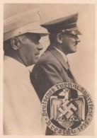 Deutsches Reich Postkarte Propaganda 1938 Bild Adolf Hitler - Deutschland