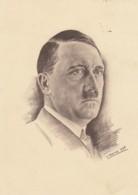 Deutsches Reich Postkarte Propaganda 1939 Bild Adolf Hitler - Briefe U. Dokumente