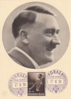 Deutsches Reich Postkarte Propaganda 1939 Bild Adolf Hitler - Germany