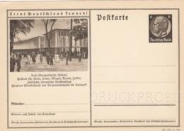 Deutsches Reich Postkarte Druckprobe 1934 P236 - Allemagne