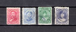 Hawai   1882-91 .  Y&T  Nº  30/31-34-41 - Hawaii