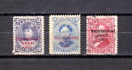 Hawai   1893 .  Y&T  Nº  46-48-55 - Hawaii