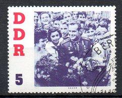 RDA. N°576 Oblitéré De 1961. Cosmonaute Titov. - Space
