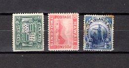 Hawai   1899 .  Y&T  Nº  69/71    ( 71  óxido  ) - Hawaii