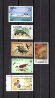 Kiribati  1981-89  .  Y&T Nº   50-62-95-162-166-207 - Kiribati (1979-...)