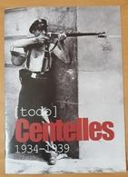 FOLLETO FOTÓGRAFO CENTELLES 1934 - 1939 - ESPAÑA. - Otros