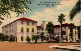 Florida Venice The Gulf Breeze Hotel Curteich - Venice