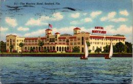 Florida Sanford The Mayfair Hotel 1955 Curteich