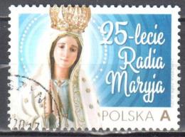 Poland 2016 - Radio Maryja, 25th Anniv - Mi.4886 - Used - Gestempelt - 1944-.... Repubblica