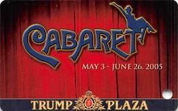 Trump Plaza Casino Atlantic City NJ BLANK Slot Card - Casino Cards