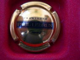 * Capsule De Champagne LEBRUN Paul  * - Capsules & Plaques De Muselet