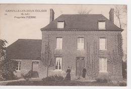 Canville-les-deux-églises. - France