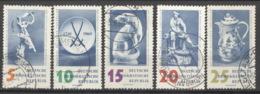 DDR 774/78 O Tagesstempel - [6] République Démocratique