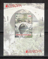 Makedonien / Macedonia / Macedonie 2018 Block/souvenir Sheet EUROPA ** - 2018