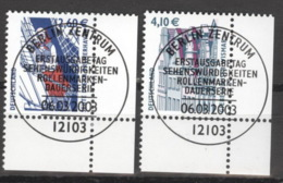 BRD 2322/23 Eckrand Rechts Unten O Sonderstempel Berlin - BRD