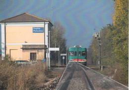 624 ALn 668.1221 Stazione Di Fratta Pollesine Rovigo Rairoad Treain Railweys Treni Rotabili - Gares - Avec Trains