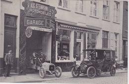 Cpa Reclame, Garage H.Aug.Steinmann&Co.51 Rempart Des Beguines Anvers. - Antwerpen