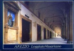 Arezzo - Loggiati Vasariano - Formato Grande Non Viaggiata – E 12 - Arezzo
