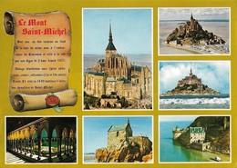 50 Le Mont Saint Michel Divers Aspects (2 Scans) - Le Mont Saint Michel