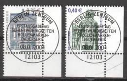 BRD 2374/75 Eckrand Rechts Unten O Sonderstempel Berlin - Gebraucht