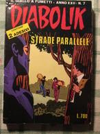 Diabolik Anno XXII N.7  Con Adesivi - Diabolik