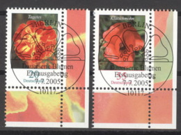 BRD 2471/72 Eckrand Rechts Unten O Sonderstempel Berlin - Gebraucht