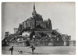 50 Le Mont Saint Michel Côté Ouest (2 Scans) - Le Mont Saint Michel