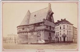 Cpa Anvers, Antwerpen, Foto, Cabinet Foto, La Tour Bleue. - Antwerpen