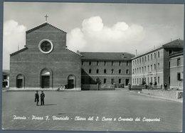 °°° Cartolina N. 5 Isernia Piazza F. Veneziale Chiesa Del S. Cuore E Convento Dei Cappuccini Viaggiata °°° - Isernia