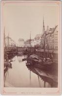 Cpa Anvers, Antwerpen, Foto, Cabinet Foto,Vue Du Port Et Bassins. - Antwerpen