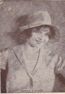 NANCY CARROLL. CARD TARJETA COLECCIONABLE TABACO. CIRCA 1920s SIZE 3.5x4.5cm - BLEUP - Personalità