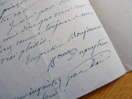 Baronne Guillaume DUPUYTREN (1793-1866) Née Geneviève De Saint Olive. Epouse MEDECIN Du ROI. AUTOGRAPHE - Handtekening