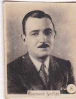 RAYMOND GRIFFITH. CARD TARJETA COLECCIONABLE TABACO. CIRCA 1920s SIZE 3.5x4.5cm - BLEUP - Personalità