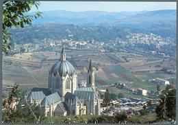 °°° Cartolina N. 8 Castelpetroso Santuario Dell'addolorata Veduta Panoramica Del Santuario Nuova °°° - Isernia